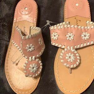 Jack Rogers pink Sandals size 6 Brand New!!